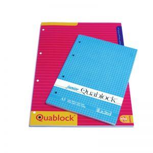 Quablock Bianco A4 Fg.50 5mm 00609775M
