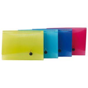 Portadocumenti A4 13 Tasche Tr.rosso 01NIK086