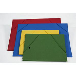 Carpetta 35x50 C/elast.ang.rosso 0206305RO