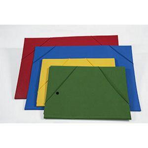 Carpetta 35x50 C/elast.ang.blu 0206305BL