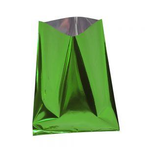 Busta Metalliz.f/p 25x40 Verde Pz.50 06335