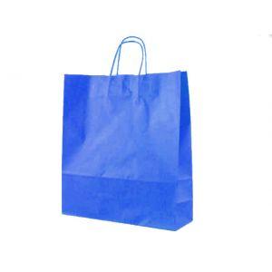 Shopper 36x12x41 Twisted Azzurro New 073915