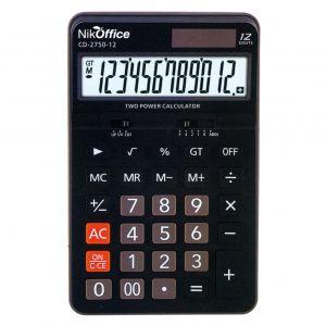 Calcolatrice 12 Digits Cd-2750 08NIK102