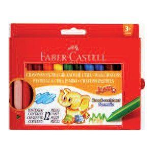 Pastelli Cera Jumbo X 12 Faber 12111202