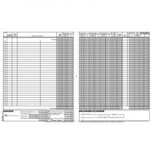 Registro Fatture 22pg Numer.31x24,5 1387N