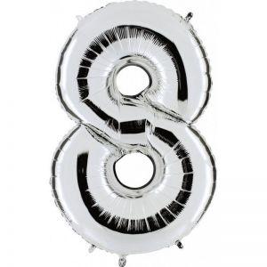 Numero 8 Silver Cm.18 14848S
