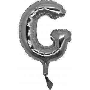 Lettera G Silver Cm.18 14907S
