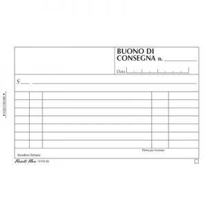 Blocco Consegne 2c Aut.11,5x16,5 16157