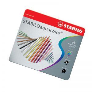 Stabilo Aquacolor Sc.metallo X 24 1624/5