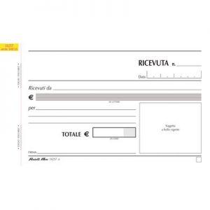 Blocco Ricevute Gener.2c Aut.10x16 16257