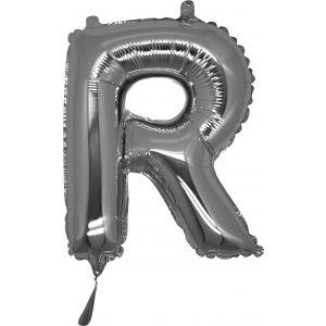 Lettera R Silver Cm.35 19918S