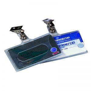Cartellino Portanome 9x6 Clip Metal. 210