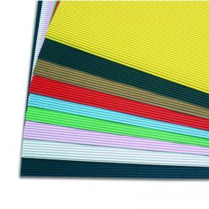 Cannete` Ondulato 50x70 Verde Ch. 2206/10