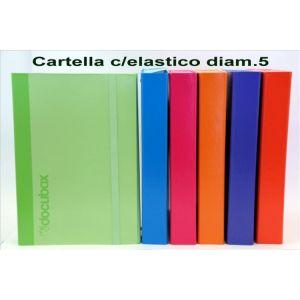 Cartella Con Elastico D.5 Assortite 23NIK100