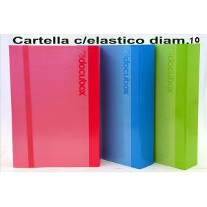Cartella Con Elastico D.10 Assortite 23NIK102