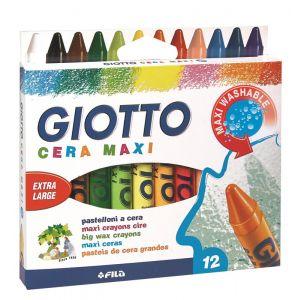 Pastel.cera Giotto Maxi X12 New Form. 291200