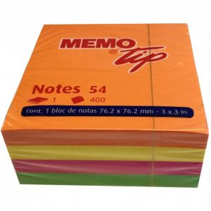 Cubo 400 Fogli 76x76 Neon 30NIK023