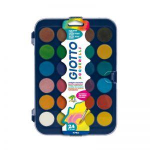 Colore Ad Acquarello X 24 Giotto 332000