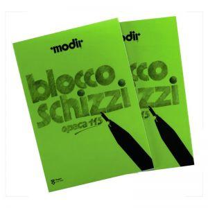 Blocco Schiz.ruvido Modir A4 3480.84