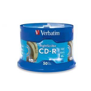 Cd-r Verbatim 700mb 52x 80m Campana 43351