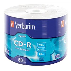 Cd-r Verbatim 700mb 52x 80m 43787