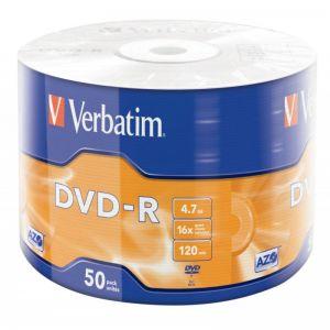 Dvd-r Verbatim 4,7gb 16x 120m 43788