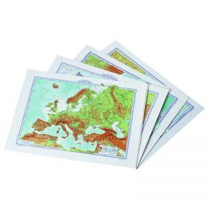 Cartina Geografica Europa Muta 757029