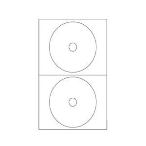 Etichetta Adesiva Per Cd Rom Pz.200 A464
