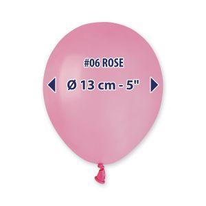 """Palloncino 5"""" Pastel.rosa Pz.100 A50-06"""