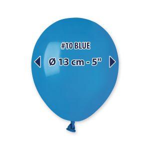 """Palloncino 5"""" Pastel.blu Pz.100 A50-10"""