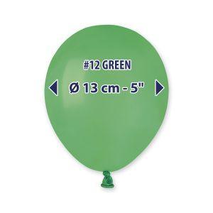 "Palloncino 5"" Pastel.verde Pz.100 A50-12"