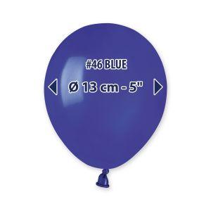 """Palloncino 5"""" Blu Pz.100 A50-46"""