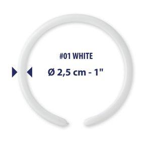 Pallonc.modell.160 Past.bianco Pz.100 D2-01