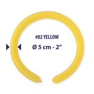 Pallonc.modell.260 Past.giallo Pz.100 D4-02