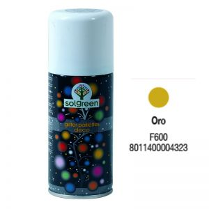 Bombola Spray Glitter 400ml. Oro F600