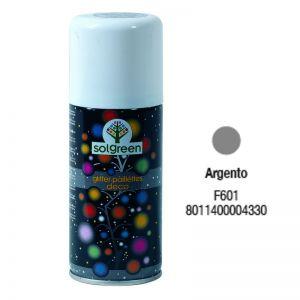 Bombola Spray Glitter 400ml. Argento F601
