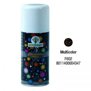 Bombola Spray Glitter 400ml. Multicolor F602