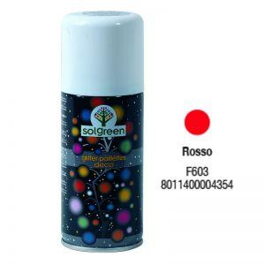 Bombola Spray Glitter 400ml. Rosso F603