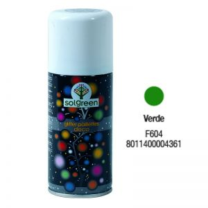 Bombola Spray Glitter 400ml. Verde F604