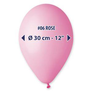 """Palloncino 12"""" Pastel.rosa Pz.100 G110-06"""