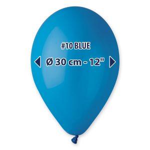 """Palloncino 12"""" Pastel.blu Pz.100 G110-10"""