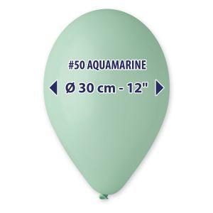 """Palloncino 12"""" Pastel.acquam. Pz.100 G110-50"""