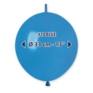 "Palloncino 13"" Past.blu Pz.100 GL13-10"