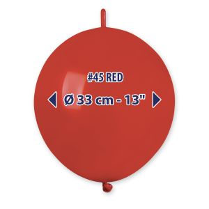 """Palloncino 13"""" Past.rosso Pz.100 GL13-45"""