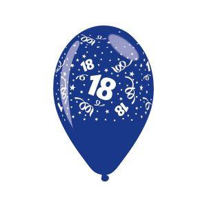 "Palloncini 18.mo 12"" Pz.100 Blu GS110/18B"