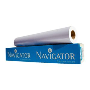 Rotolo Plotter 420x50 Gr.90 Navigator PN90420