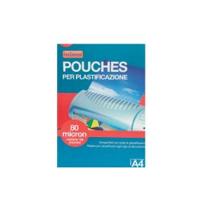 Pouches Per Plastific.a4 Mic 80 13NIK049