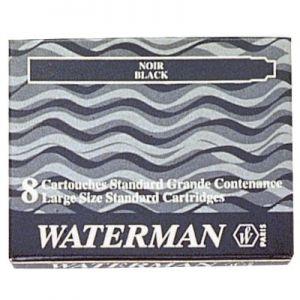 Cartuccia Waterman Lunga Nera S0110850