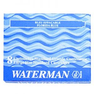 Cartuccia Waterman Lunga Bleu S0110860