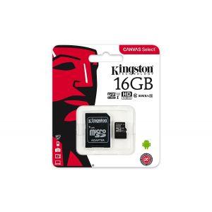 Micro Sd 16gb Sdcs C/ad.kingston Cl10 SDCS/16GB